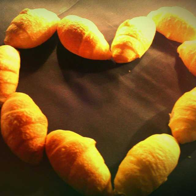 The to your Monday  Croissants!