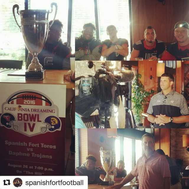 Repost spanishfortfootball with repostapp WNSP California Dreaming Bowl preview showhellip