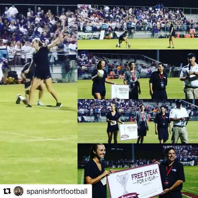 Repost spanishfortfootball with repostapp  Congratulations to Mackenzie Brentzel Shehellip