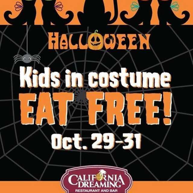 Were putting the FREE in freaky this Halloween weekend KidsEatFreehellip