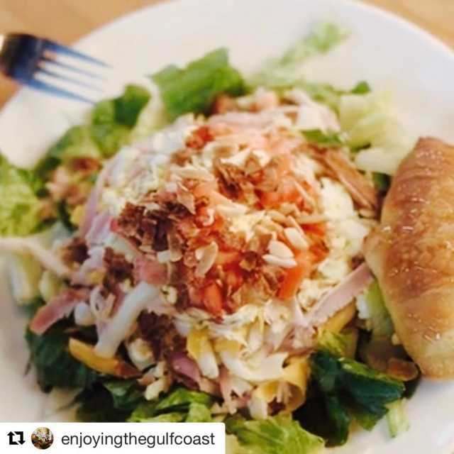 Repost enjoyingthegulfcoast with repostapp  NortherngirlSouthernRootsLove Chef Salads!!! check outhellip