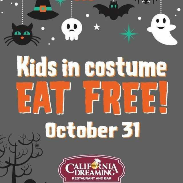 Were putting the FREE in freaky this Halloween KidsEatFree