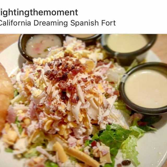 Repost fightingthemoment The famous cdrestaurant salad