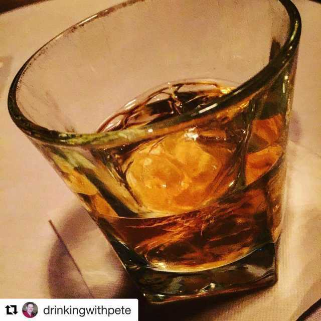 Repost drinkingwithpete with repostapp  balvenie Doublewood at chophouse47 withhellip