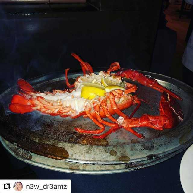 Repost n3wdr3amz with getrepost  OMG the best lobster ever!!!hellip