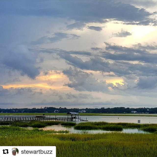 Repost stewartbuzz with repostapp  Our dinner view last nighthellip