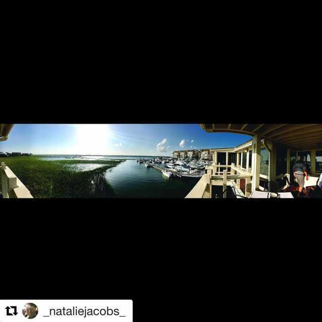 Repost nataliejacobs getrepost  Dinner with a view gulfstreamcafe myrtlebeachhellip