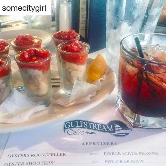 Repost somecitygirl getrepost  oystershooters amp a raspberry vodka icehellip