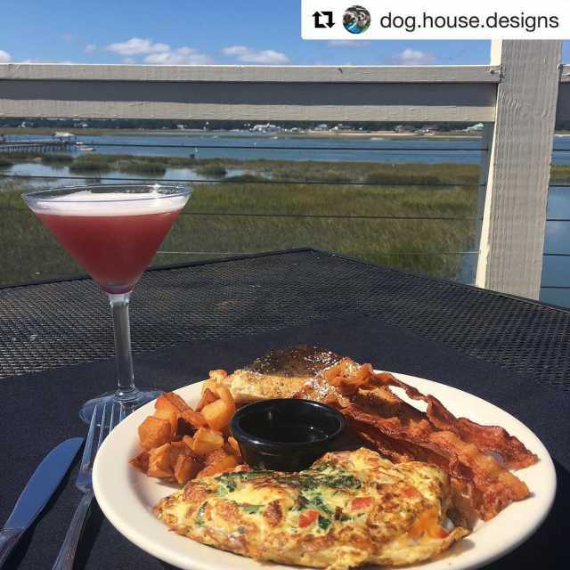 Repost doghousedesigns getrepost  Perfect Sunday at the Gulfstream Cafehellip