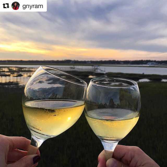Repost gnyram getrepost  Perfect fall weather gulfstreamcafe myrtlebeach gardencityhellip