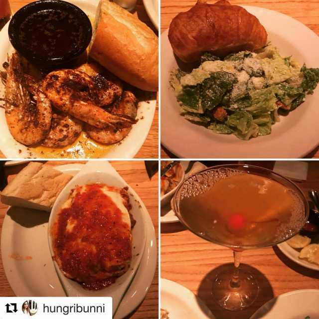 Repost hungribunni with getrepost  dinner american cocktailbar neworleans spicyhellip