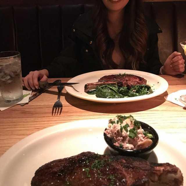 Repost jensenabraham with getrepost  We love steak steak dinnerhellip