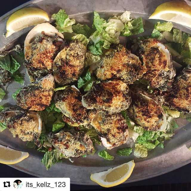 Repost itskellz123 with repostapp  Oyster rock platter newyorkprime seafoodhellip