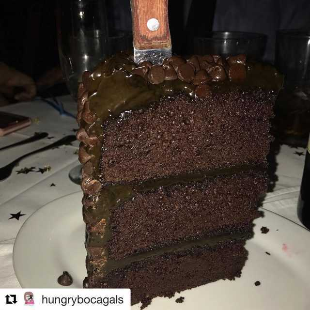 Repost hungrybocagals getrepost  CHOCOLATE HEAVEN from NY PRIME creditshellip