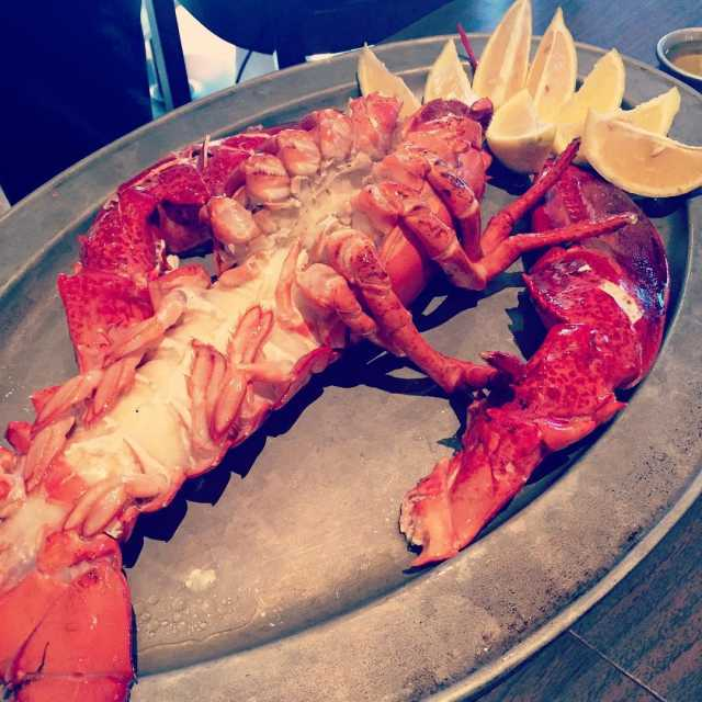 Its a lovely day for lobster at NewYorkPrime  seafoodhellip