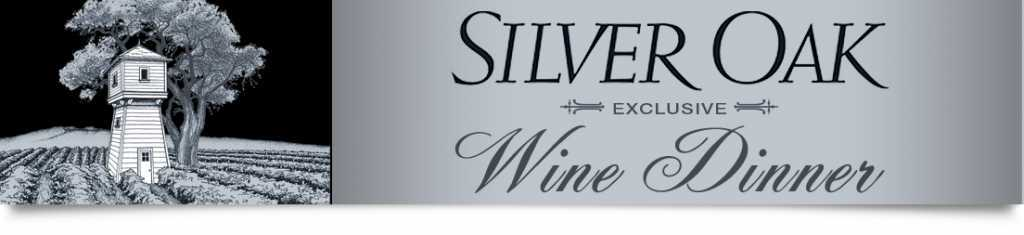 Atlanta Silver Oak Wine Dinner New York Prime