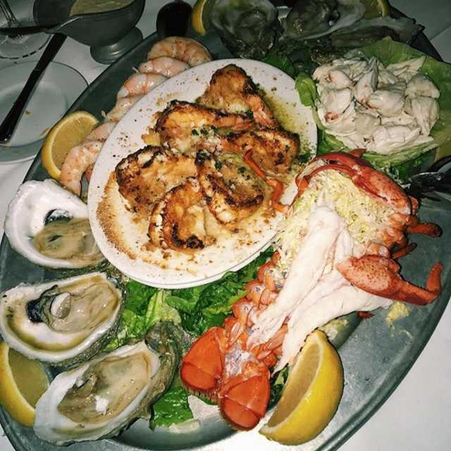 Repost soflofoodies getrepost  Im on a seafood diet Ihellip