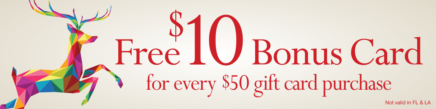 Purchase holiday gift cards
